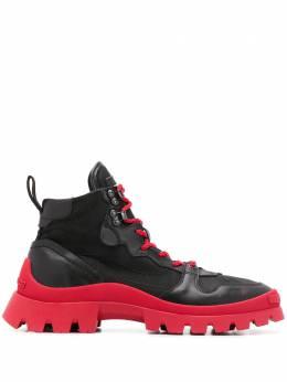 Dsquared2 ботинки на контрастной подошве SNM013001503032