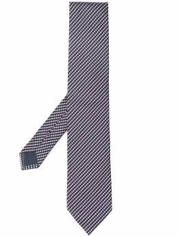 Ermenegildo Zegna галстук с узором Z8W091L8