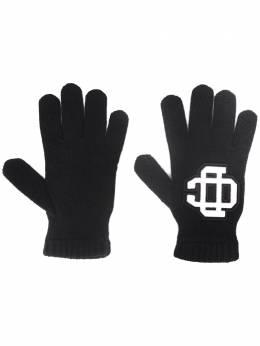 Dsquared2 перчатки с логотипом KNM005201W03226
