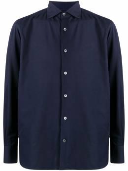 Ermenegildo Zegna саржевая рубашка UVX18SRF5