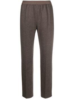 Agnona прямые брюки с завышенной талией T70010Y1002