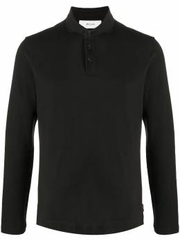 Z Zegna рубашка поло с длинными рукавами VV360ZZ619