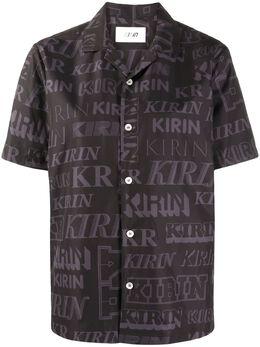 Kirin футболка с короткими рукавами и логотипом KWGA007F20FAB0021011