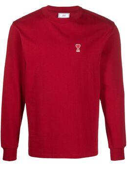 Ami Paris футболка с длинными рукавами и логотипом H20HJ005701