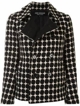 Junya Watanabe Comme Des Garcons Pre-Owned двубортный пиджак в горох JCJ027