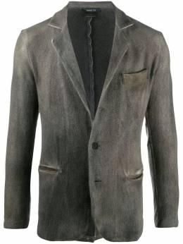 Avant Toi однобортный пиджак с эффектом деграде 220U7370MPSVH