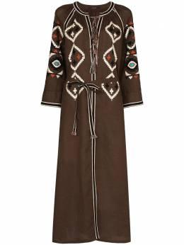 Vita Kin платье миди с вышивкой DMEP2FYE
