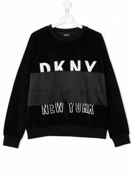 DKNY Kids джемпер с логотипом D35Q94