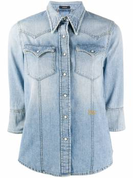 Ports 1961 рубашка с укороченными рукавами и эффектом потертости PR320HJD11FCOU213