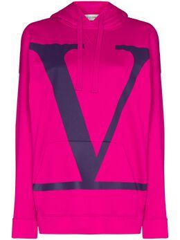 Valentino худи оверсайз с логотипом UB3MF06Q5TM
