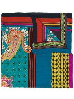 Etro шарф с абстрактным принтом 100104518