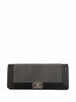 Chanel Pre-Owned клатч Boy Lock 359739