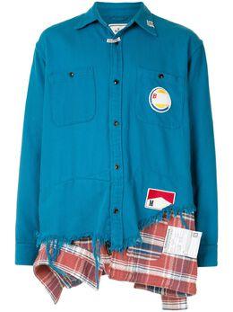 Maison Mihara Yasuhiro многослойная рубашка A05SH112