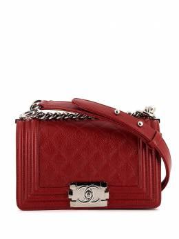 Chanel Pre-Owned сумка на плечо Boy 349548
