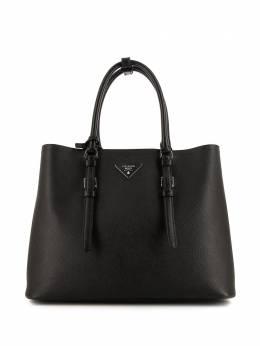 Prada Pre-Owned сумка-тоут с логотипом 353798
