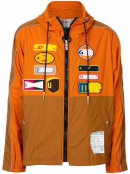 Maison Mihara Yasuhiro куртка-рубашка Back Docking A05BL071