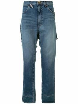 Maison Mihara Yasuhiro джинсы прямого кроя Broken Docking A05PT021