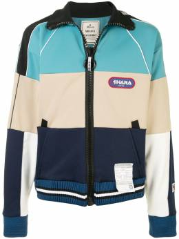 Maison Mihara Yasuhiro спортивная куртка Border A05JK611