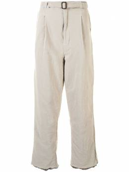 Maison Mihara Yasuhiro брюки прямого кроя A05PT051