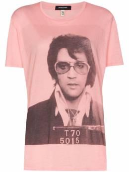 R13 футболка с принтом Elvis T70 R13W770614