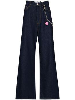 Natasha Zinko широкие джинсы с завышенной талией PF2032145