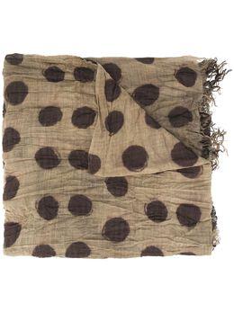 Uma Wang шарф в горох UA0243S29A0