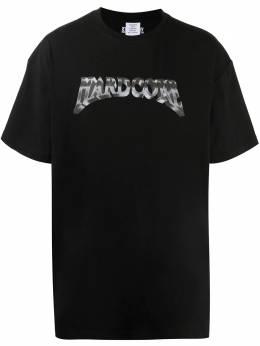 Vetements футболка с надписью UAH21TR557