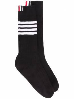 Thom Browne носки с полосками 4-Bar MAS095A01690