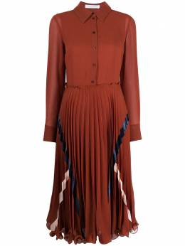 See By Chloe плиссированное платье CHS20ARO02013