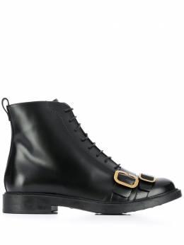 Tod's ботинки на шнуровке с пряжкой XXW59C0DL90OG9B999