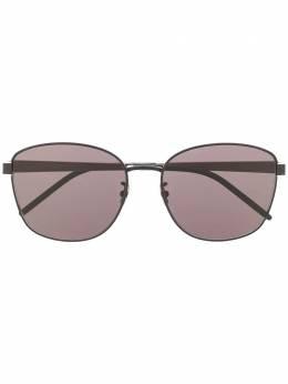 Saint Laurent Eyewear солнцезащитные очки в круглой оправе 635980Y9948