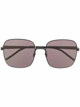 Saint Laurent Eyewear солнцезащитные очки в квадратной оправе 635986Y9948