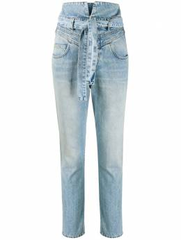 The Attico джинсы Vivien с завышенной талией 202WCP13D005045