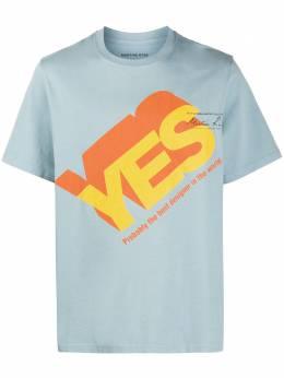 Martine Rose футболка с архивным принтом MRAW20603ACLB