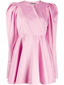 Rotate платье мини с пышными рукавами 901290