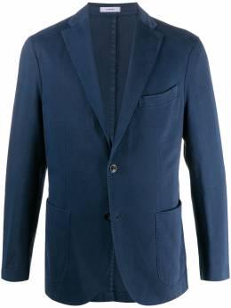 Boglioli пиджак узкого кроя N1302QBBP422