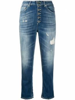 Dondup укороченные джинсы с эффектом потертости DP268BDS0107DAM7