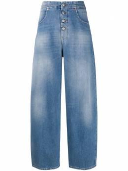 Mm6 Maison Margiela зауженные джинсы с завышенной талией S52LA0119S30460