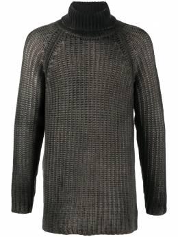 Avant Toi длинный свитер с высоким воротником 220U7331CLNVH