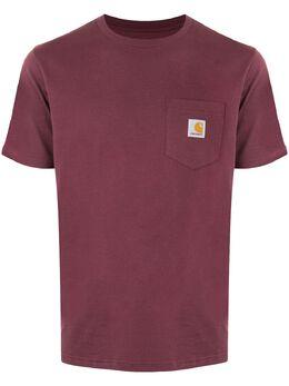Carhartt Wip футболка с нашивкой-логотипом I022091