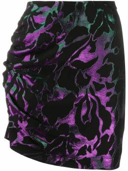 Federica Tosi юбка с абстрактным узором и сборками FTI20GO0590JQ00380250