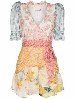 Loveshackfancy платье Arlo с принтом LD849653SWEETWATERMIXEDPRI