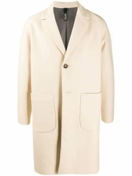 Hevo однобортное пальто миди CONVERSANOT725