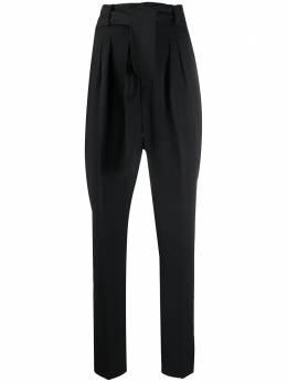 Ba&sh брюки с завышенной талией и завязками 1E20TIAG