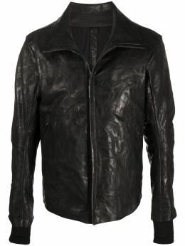 Isaac Sellam Experience куртка с эффектом потертости FUMISTECRASSEPOUILLE