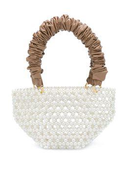 0711 сумка-тоут Tako из искусственного жемчуга PUR0727