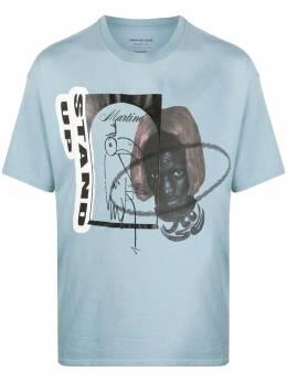 Martine Rose футболка оверсайз Stand Up MRAW20622AC