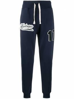 Hydrogen спортивные брюки с логотипом 274608