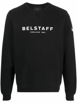 Belstaff толстовка с круглым вырезом и логотипом 71130674J61N0133