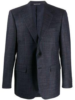 Canali однобортный пиджак узкого кроя CF0174911280